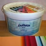 Santorin-Mix, reproduzierbare Farbtöne