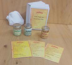 Gratis Probier-Set Öle, Reinigung und Pflege 3x50 ml