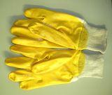 Citrin-Handschuh natur