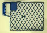 Kunststoff-Abstreifgitter blau