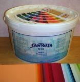 Santorin Mix Naturdispersion dunkle Farbtöne 3 l